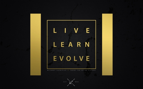 LIVE LEARN EVOLVE